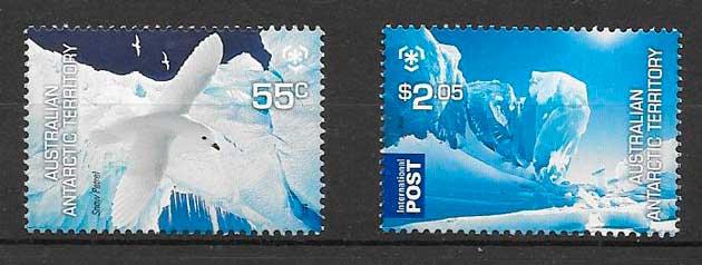 sellos fauna Australia Territorio Antártico