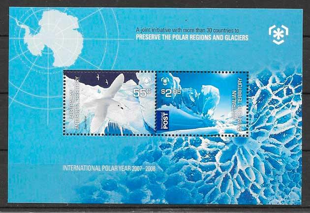 sellos fauna Australia Teritorio Antártico