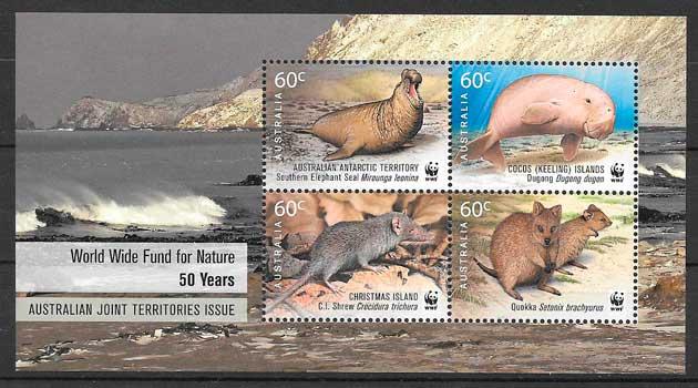 sellos fauna Australia Territorio Antártico 2011
