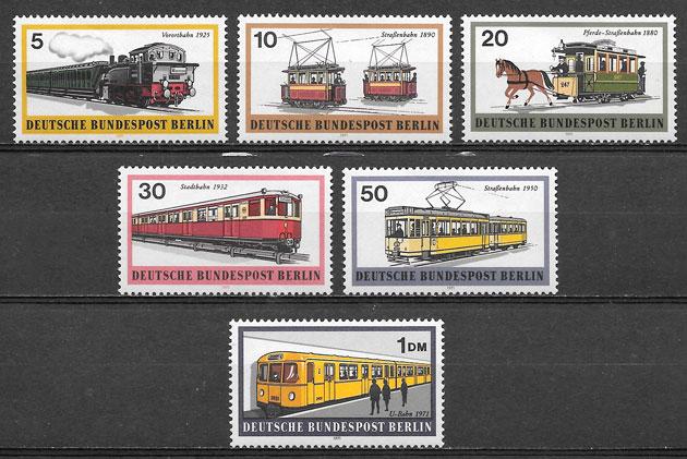 slos trenes Alemania Berlin 1971