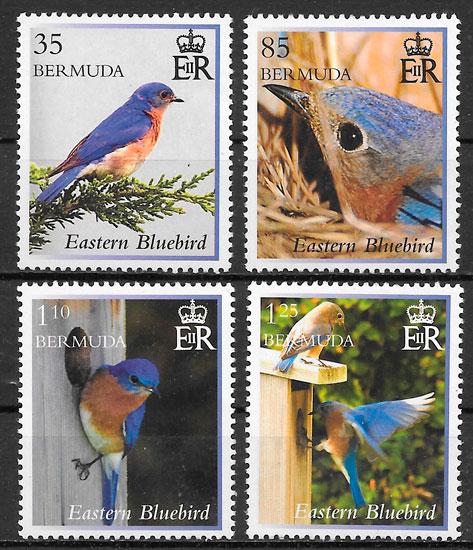 sellos fauna Bermuda 2014