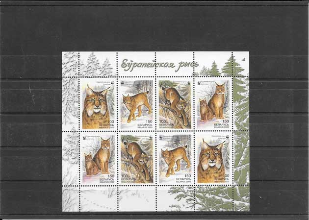 Colección sellos Bielorrusia-2000-02