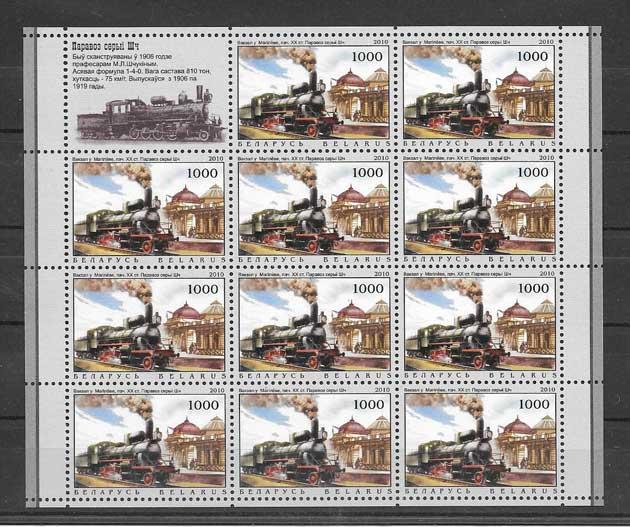 sellos filatelia Bielorrusia-2010-02