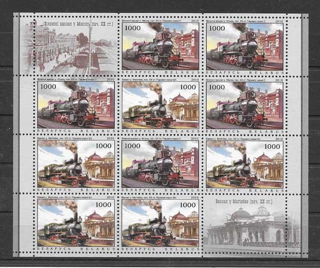 sellos filatelia Bielorrusia-2010-03