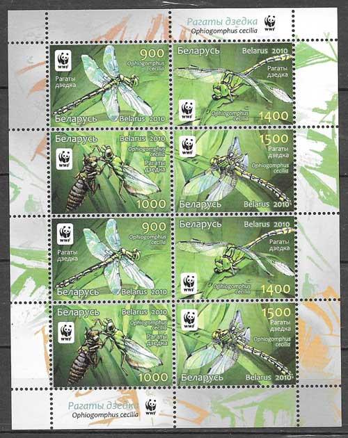 sellos fauna Bielorrusia 2010