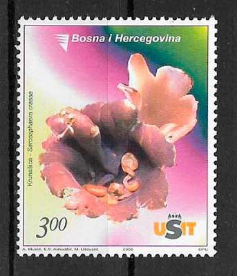 filatelia setas Bosnia Herzegovina 2006