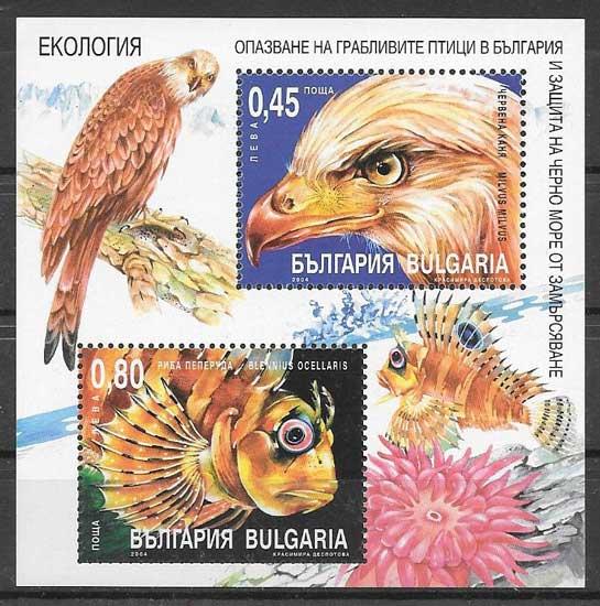 Filatelia fauna 2004 Bulgaria 2004