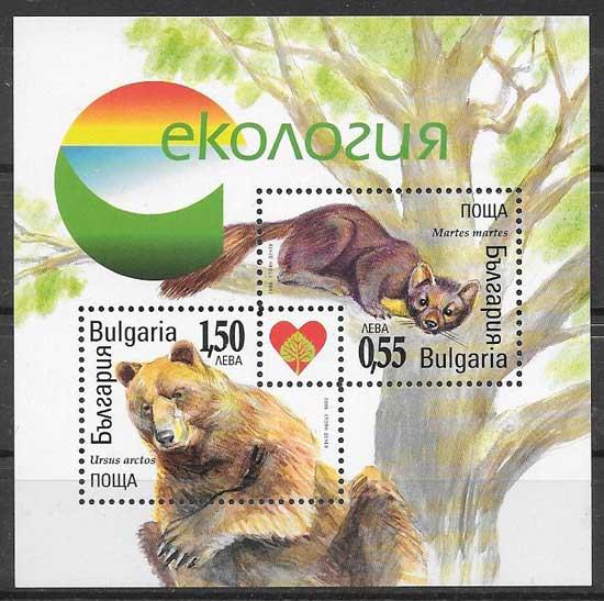 Filatelia fauna Bulgaria 2006