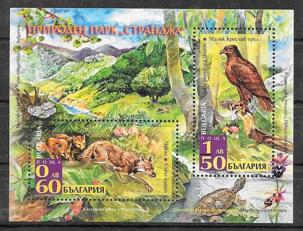 sellos parques naturales Bulgaria 2008