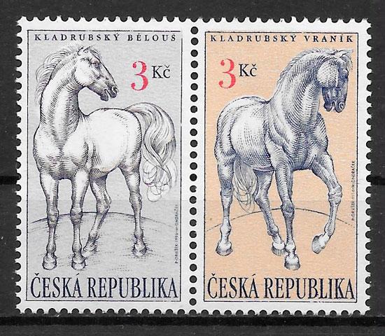 sellos fauna Chequia 1996