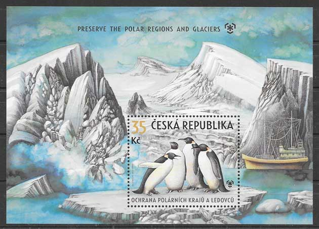 Sellos fauna protegida Chequia-2009-01
