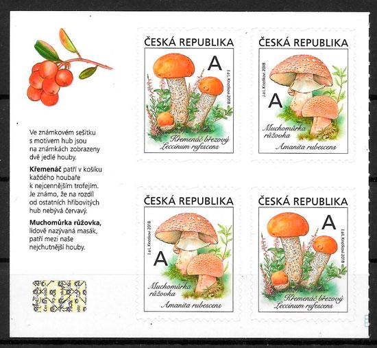 sellos setas Chequia 2018