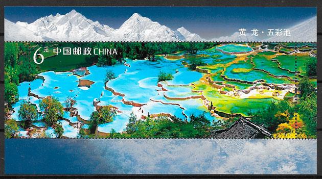sellos parques naturales China 2009