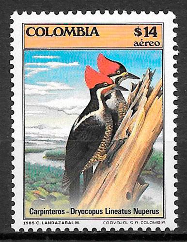 selos fauna Colombia 1985