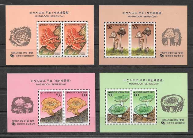 Estampillas Corea del Sur-1995-01