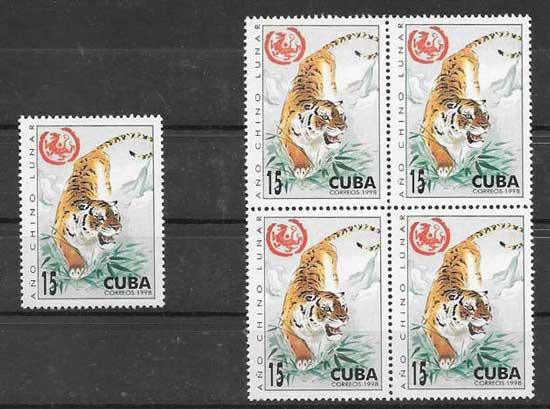 Sellos Cuba-1998-01