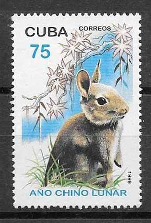 Colección sellos Cuba-1999-03