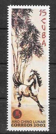 Colección Sellos Cuba-2001-06