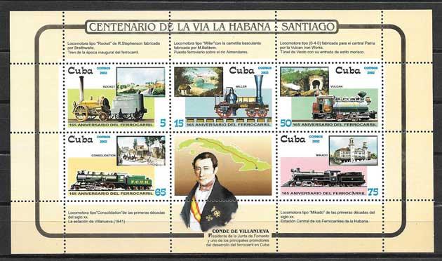 Sellos Colección Cuba-2002-02