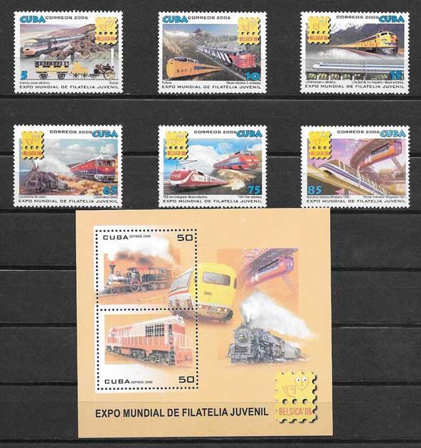 Colección sellos Exposición mundial Bélgica 2006