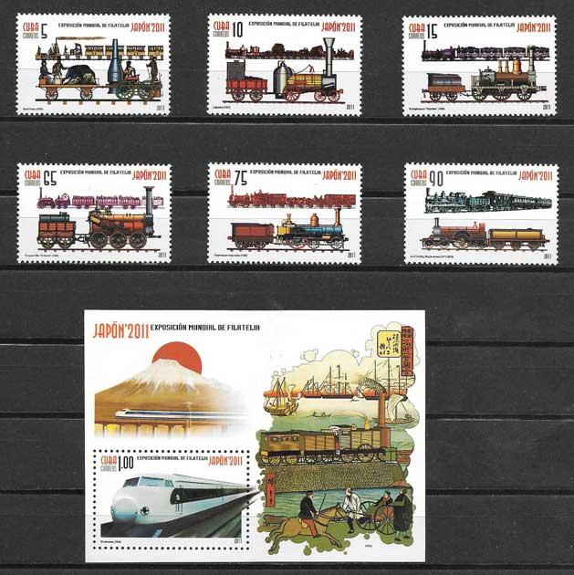 Colección sellos Exposición Mundial de Filatelia