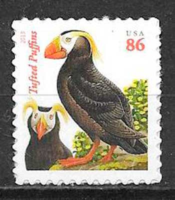sello fauna USA 2013
