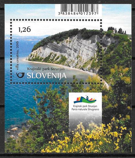 sellos parques Naturales Eslovenia 2016
