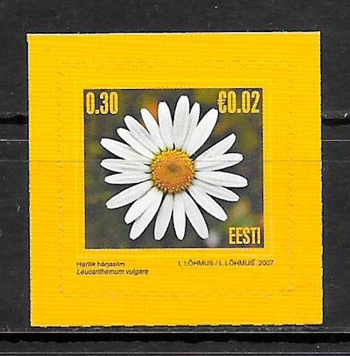 filatelia flora Estonia 2007