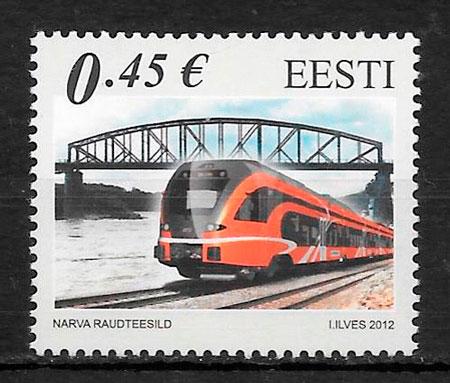 excelentes condiciones 9 sellos de colecci/ón que ofrece trenes Mint NH trenes del jubileo de plata del mundo Tren sellos para coleccionistas Ideal para la recogida