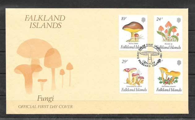 Sellos Falkland-Island-1987-01