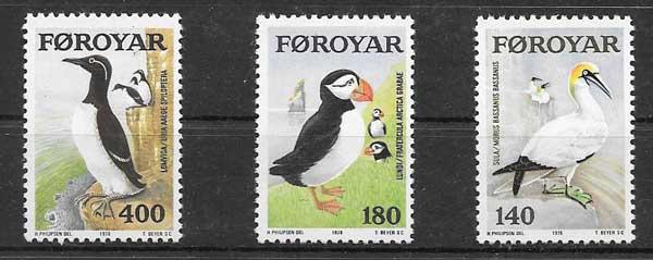 Sellos fauna de Feroe 1978