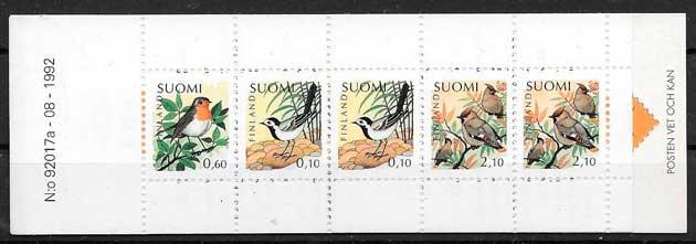 selllos fauna Finlandia 1992