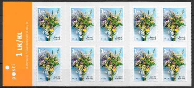 sellos flora Finlandia 2013