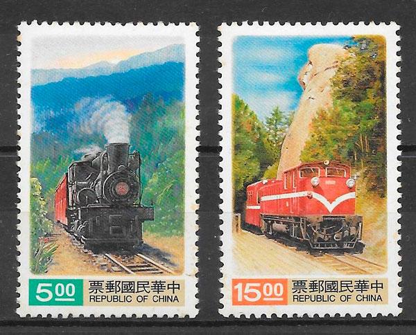 sellos trenes Formosa1992
