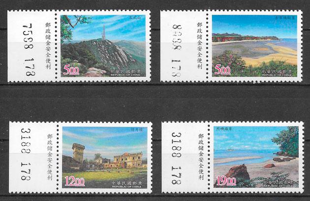 sellos parques naturales Formosa 1998