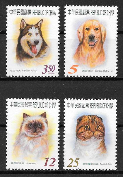 sellos perros Formosa 2005