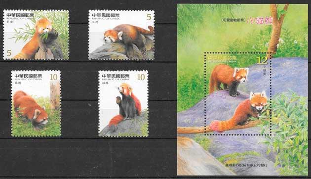 sellos fauna formosa - China