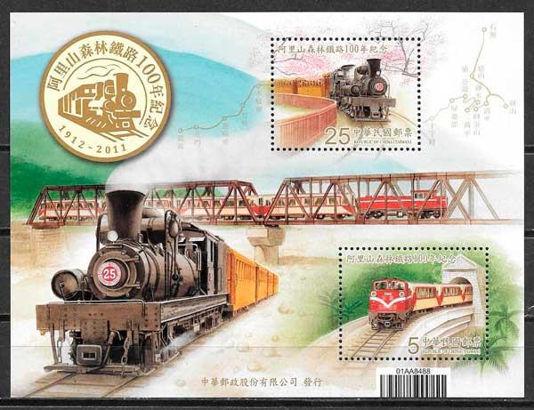 sellos trenes Formosa 2011