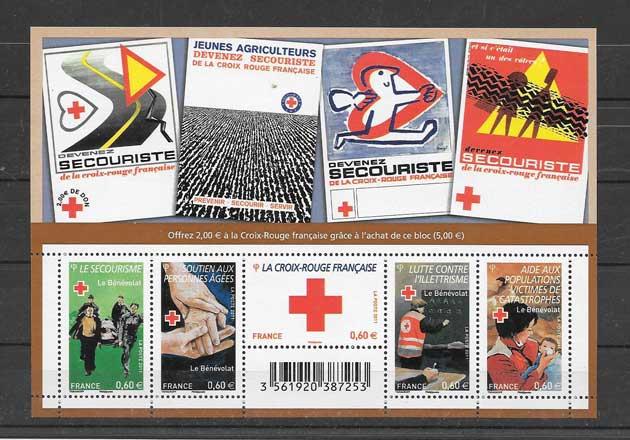 Estampillas Francia-2011-02