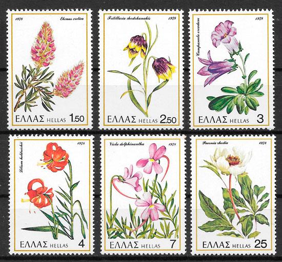 selos flora Grecia 1978