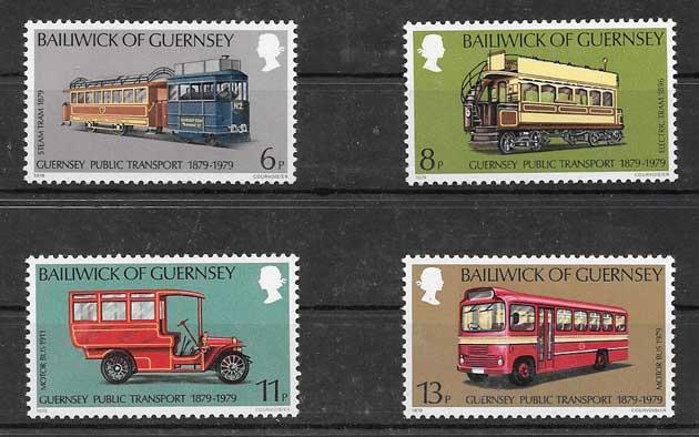 Filatelia sellos transporte ferroviario del país 1979