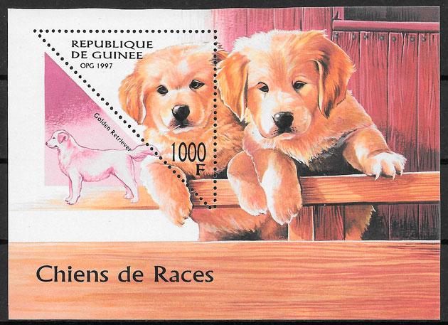 filatelia gatos Guinea 1997