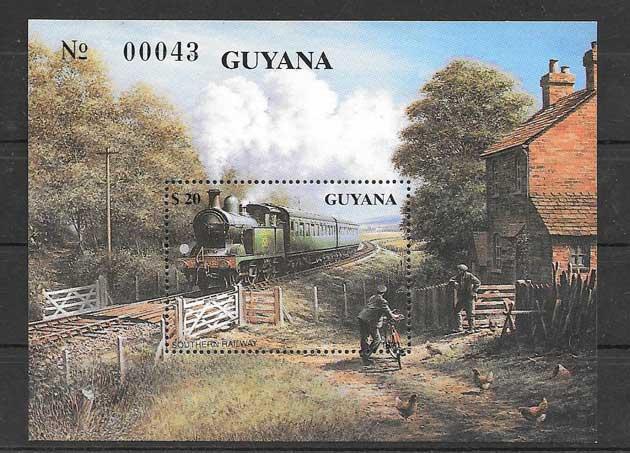 Colección sellos Guyana-1990-01