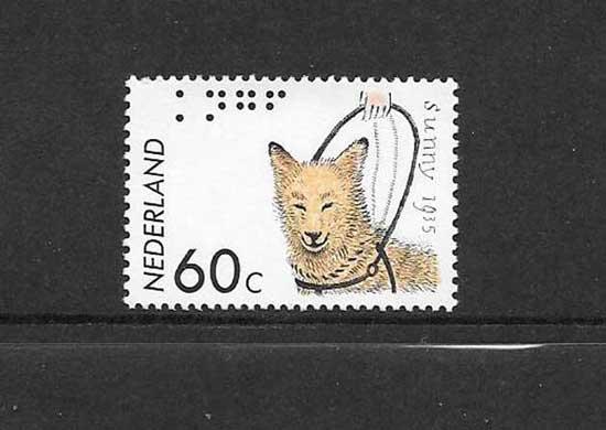 Sellos perros Holanda-1985-01