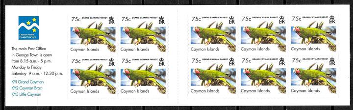 sellos fauna Islas Caiman 2006