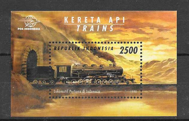 Colección sellos Indonesia-1998-01