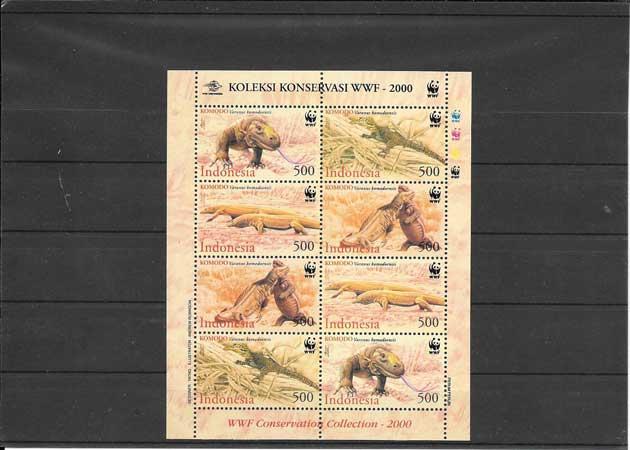 Colección Sellos Indonesia-2000-02