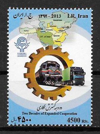 sellos trenes Irán 2013