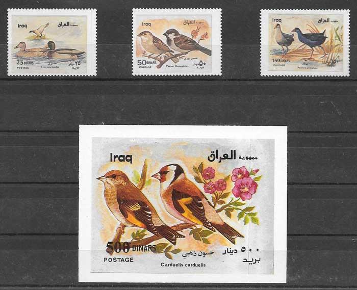 Filatelia fauna Irak
