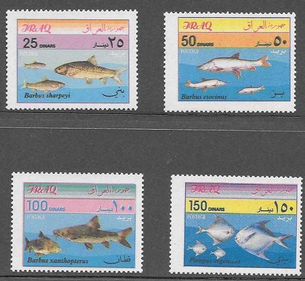 Filatelia fauna Iraq 2001